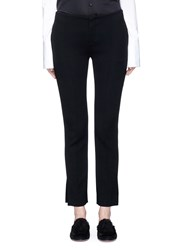 Ms Min Split Cuff Suiting Pants Black