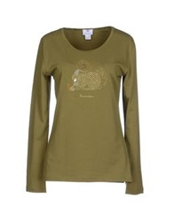 Braccialini T Shirts Military Green