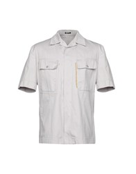 Miu Miu Shirts Light Grey