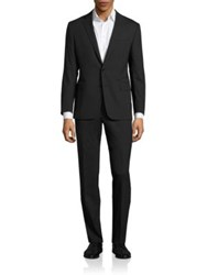 Polo Ralph Lauren Connery Two Button Wool Suit Black
