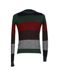 Beverly Hills Polo Club Knitwear Jumpers Men Green