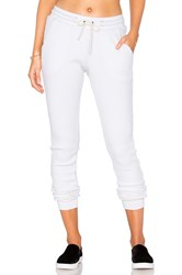 Cotton Citizen The Monaco Thermal Jogger White