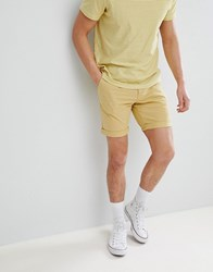 Selected Homme Chino Short Yellow