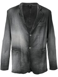 Avant Toi Two Button Blazer Green