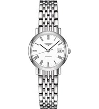 Longines L4.309.4.11.6 Elegant Stainless Steel Watch White