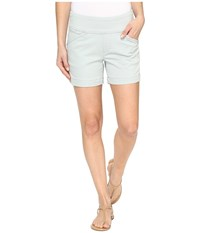 Jag Jeans Ainsley Pull On 5 Shorts In Bay Twill Soft Sage Women's Shorts Green