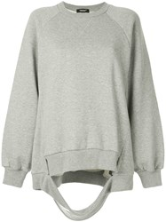 Undercover Ripped Sweatshirt Grey