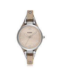 Fossil Georgia Riley Stainless Steel Women's Watch Silver