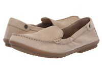 Hush Puppies Aidi Mocc Slip On Taupe Nubuck Slip On Shoes