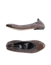 Anna F. Ballet Flats Light Brown