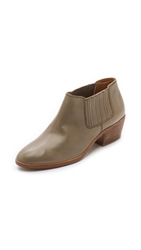 Madewell Claire Chelsea Booties Mink