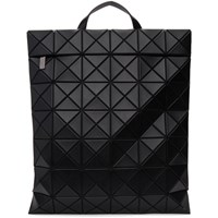 Issey Miyake Bao Bao Black Matte Lucent Backpack