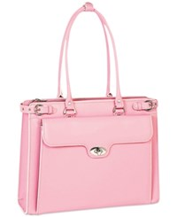 Mcklein Winnetka Briefcase Pink