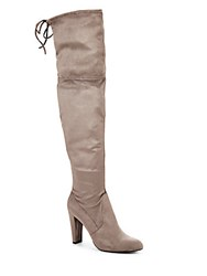 Charles By Charles David Sycamore Microsuede Knee High Boots Grey