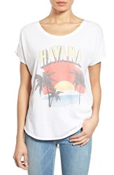 Women's Signorelli 'Havana' Graphic Scoop Neck Tee