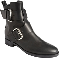 Pierre Hardy Double Buckle Motorcycle Boots Black