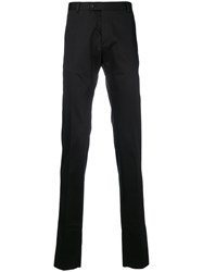 Tonello Tailored Style Trousers Black