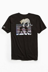 Hall Of Fame Big Cat Tee Black