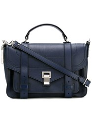 Proenza Schouler Ps1 Satchel Blue