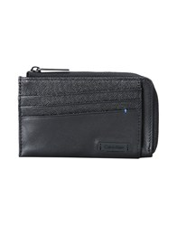 Calvin Klein Small Leather Goods Document Holders Black