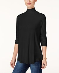 Jm Collection Turtleneck Top Only At Macy's Deep Black