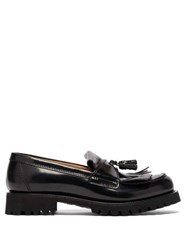 Church's Catrina Tassel Leather Loafers Black