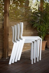 Gandia Blasco Basic Chair Set Of 4 Default White