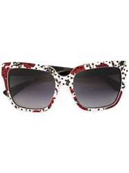Dolce And Gabbana Enchanted Beauties Sunglasses White