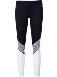 Heroine Sport Chalk Print Cycling Pants Black
