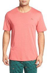 Tommy Bahama Men's Cotton Blend Crewneck T Shirt Red Sail