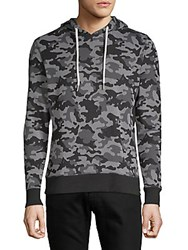 Sovereign Code Camouflage Cotton Hoodie Black White