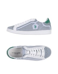 U.S. Polo Assn. U.S.Polo Footwear Low Tops And Sneakers Green