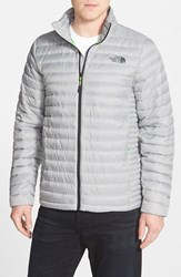 The North Face Men's 'Tonnerro' Compressible Down Puffer Jacket High Rise Grey