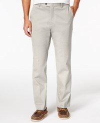 Tasso Elba Men's Regular Fit Chino Pants Only At Macy's White Fog