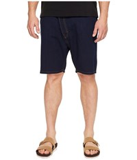 Vivienne Westwood Anglomania Lee Shady Asymmetric Shorts Blue Denim Men's Shorts