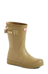 Hunter Women's Original Short Adjustable Back Rain Boot Sage