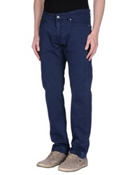 Mcs Marlboro Classics Casual Pants Dark Blue