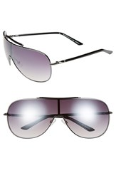 Women's Bcbgmaxazria Shield Sunglasses Gunmetal
