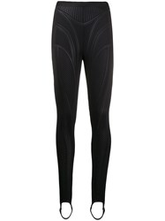 Thierry Mugler Quilted Effect Leggings 60