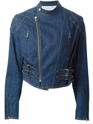 Christian Dior Vintage Denim Biker Jacket