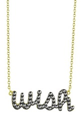 Ariella Collection Wish Necklace Metallic