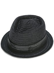 Maison Michel Jac Hat Women Straw Polyester S Black