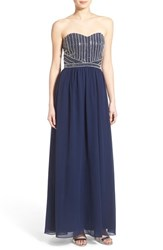 Women's A. Drea Embellished Strapless Gown