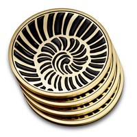 L'objet Shell Coasters Set Of 4