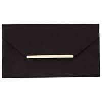 Collection By John Lewis Abby Envelope Clutch Bag Black
