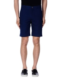 Pedro Del Hierro Trousers Bermuda Shorts Dark Blue