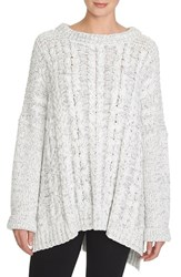 Women's 1.State Cable Knit Poncho Sweater