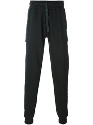 Blood Brother Zipped Pockets Sweatpants Grey
