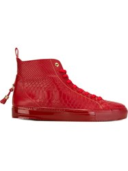 Android Homme 'Alfa' Hi Tops Red