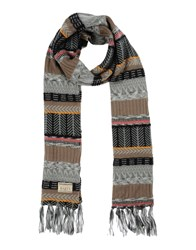 Barts Accessories Oblong Scarves Women Grey